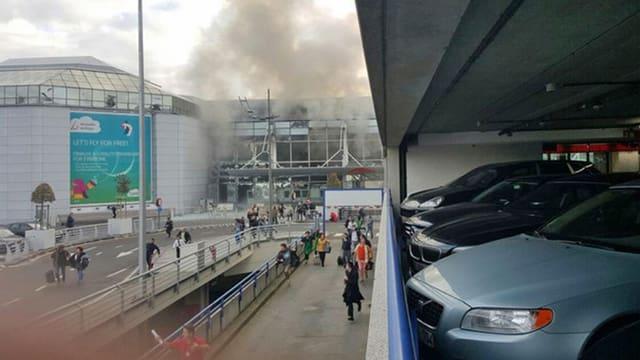Brüssel explosiuns.