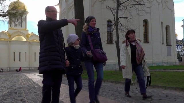 Dominque Godat geniesst die Freizeit mit seiner Familie.