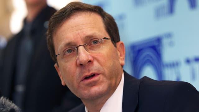 Jitzchak Herzog von der Arbeitspartei.