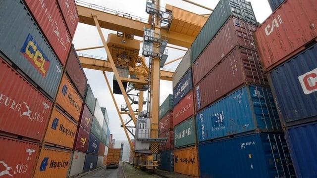 Widerstand gegen den geplanten Containerterminal