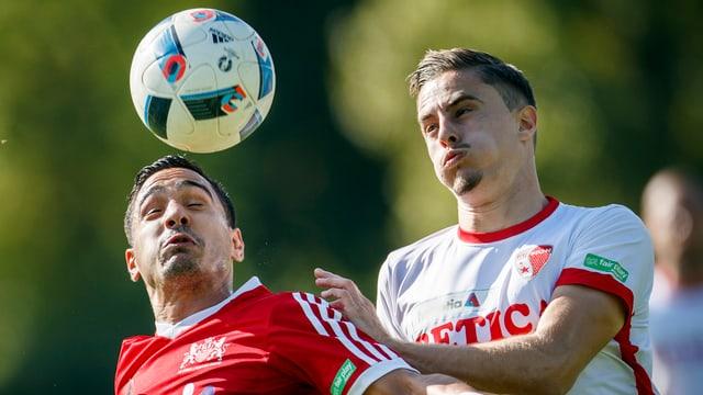 Der Lausanner Fabio Rego (l.) in der Cup-Partie gegen den FC Sion.