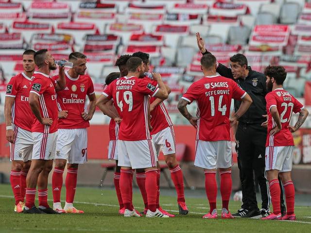 Benfica Spieler und Trainer