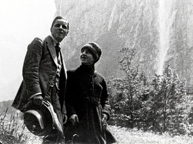 Leny in Lauterbrunnen. Szene aus «Der Bergführer».