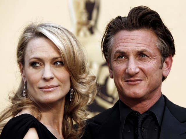 Robin Wright und Sean Penn