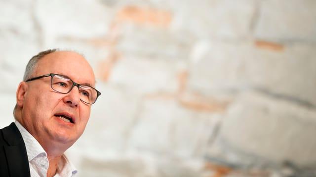 SP-Regierungsrat Pierre-Yves Maillard.