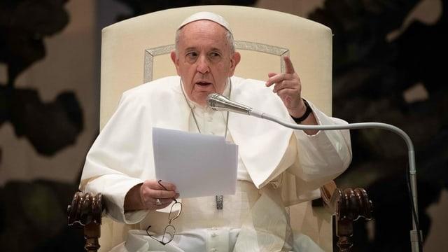 Papst für Schutz gleichgeschlechtlicher Partnerschaft
