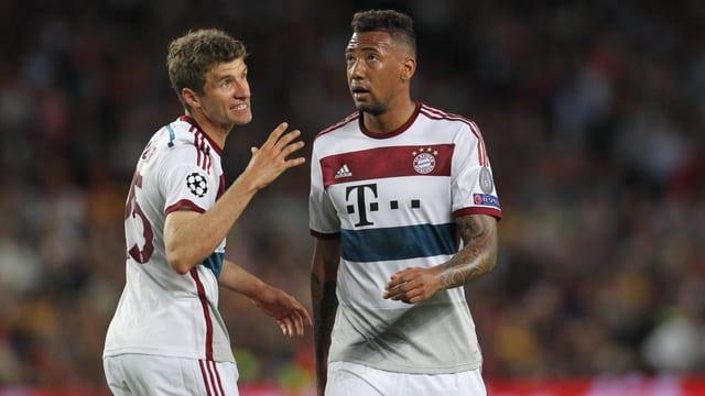 Im Camp Nou von Barcelona erhielten die Bayern-Profis in der Schlussviertelstunde eine Lehrstunde.
