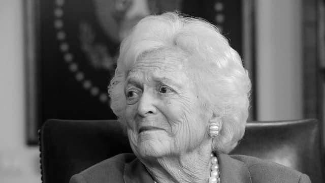 Barbara Bush.