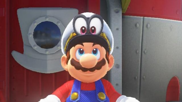 Marios Hut hat jetzt auch Augen und kann im Spiel eingesetzt werden.