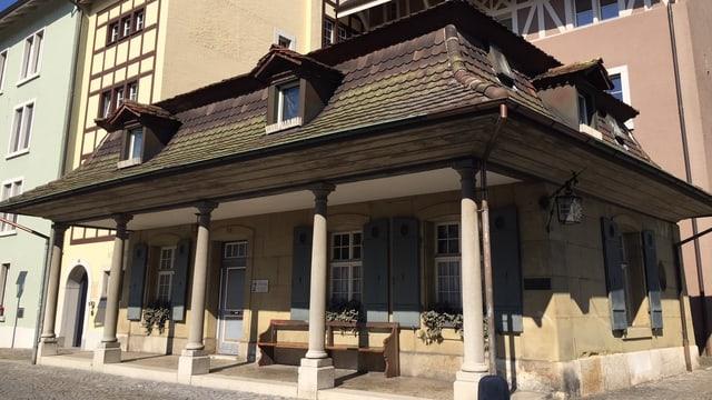 Der alte Landjägerposten in Zofingen