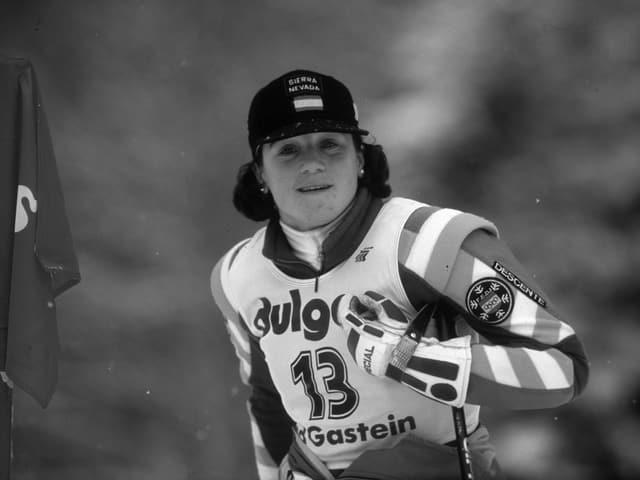 Die ehemalige spanische Skifahrerin Blanca Fernandez Ochoa.