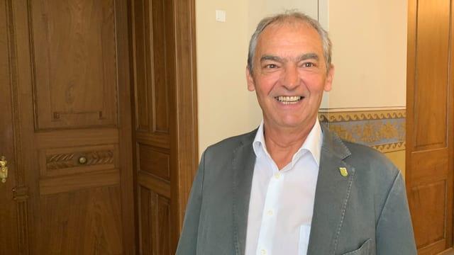 Kurt Egger, Präsident der Grünen Partei Thurgau, würde gerne mit der GLP eine Listenverbindung eingehen.