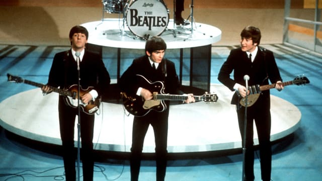 Die Beatles werden modern.