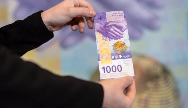 La nova bancnota da milli.
