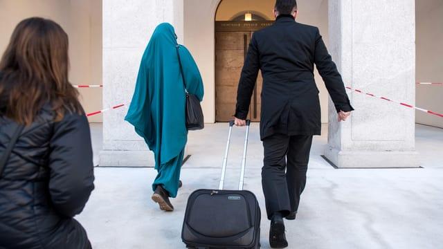 Dschihad-Reisende geht ins Gericht Bellinzona