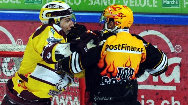 Floran Douay und Linus Klasen im In-Fight
