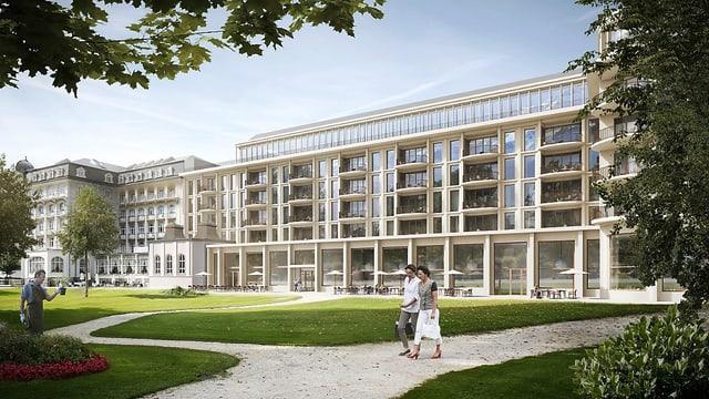 Hotelprojekt am Kurpark Engelberg