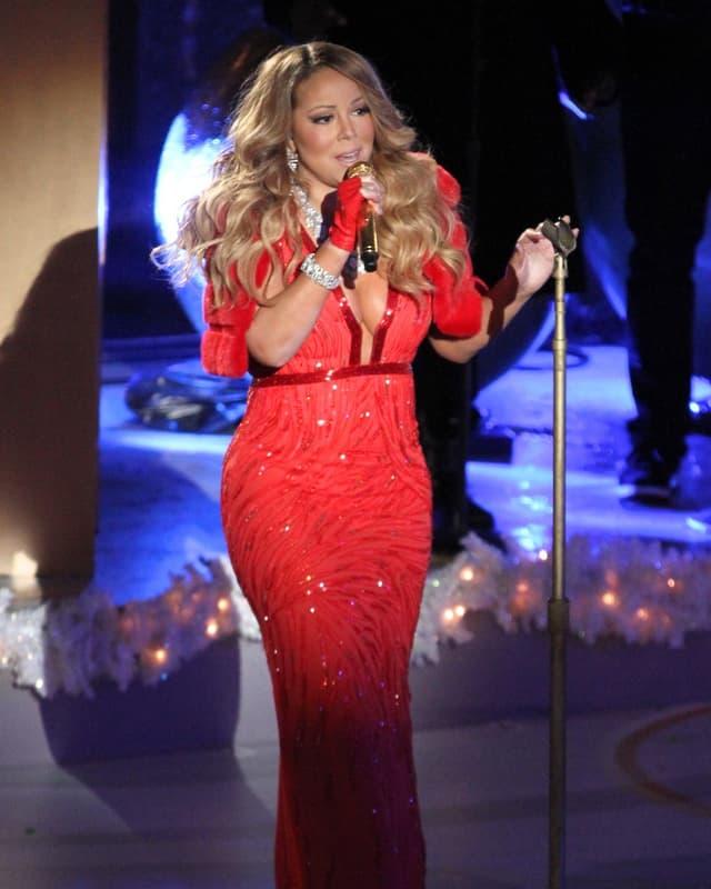 Mariah Carey auf Bühne