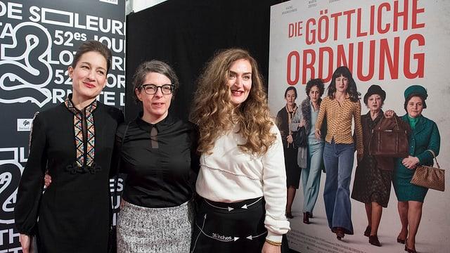 Marie Leuenberger, actura principala, Petra Volpe, reschissura, Rachel Braunschweig, actura (da san.)