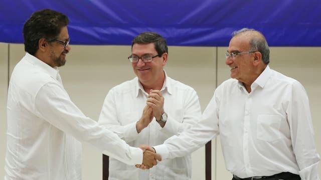 Teilnehmer der Verhandlungen