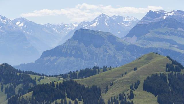 Blick von der Rigi aus