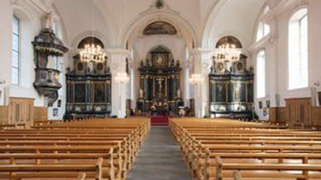 Blick in einen Kirchenraum