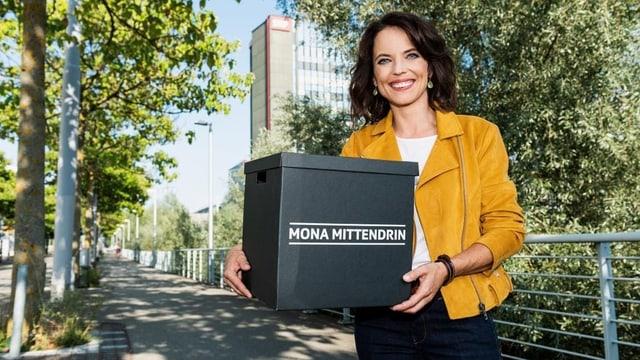 Die Moderatorin Mona Vetsch