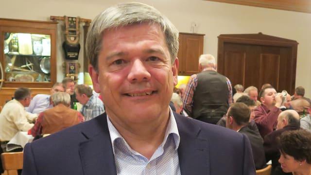 Porträt des Obwaldner Politikers Daniel Wyler.