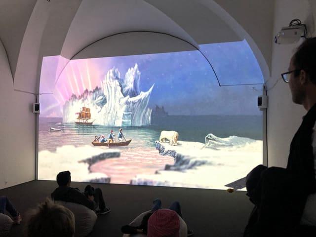 En il museum retic han ins pudì seser entamez in film.
