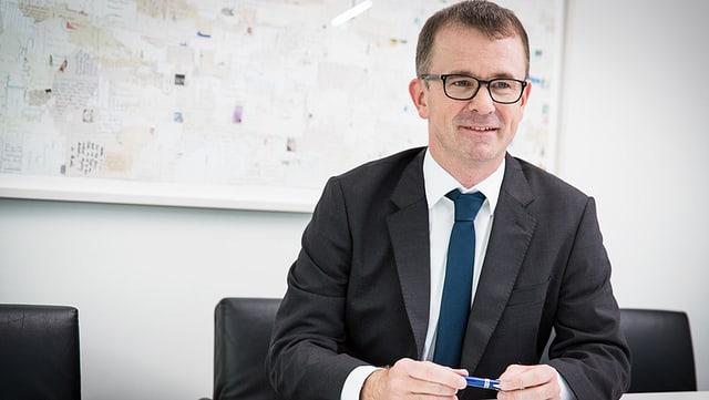 Raphael Golta (SP) Sozialvorsteher der Stadt Zürich.