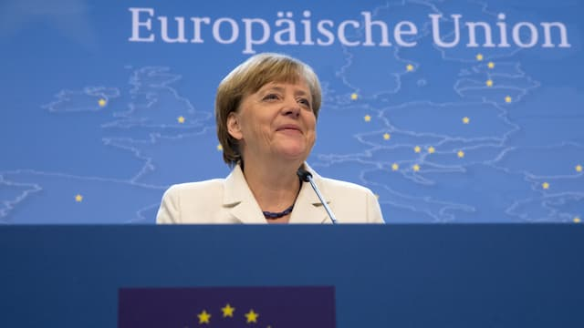 La chanceliera tudestga Angela Merkel