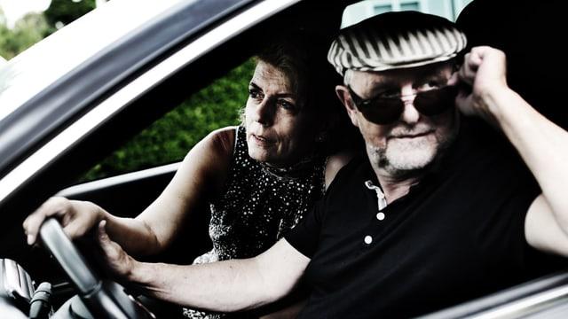 Das dänische Autorenduo Mai Brostrøm und Peter Thorsboe.