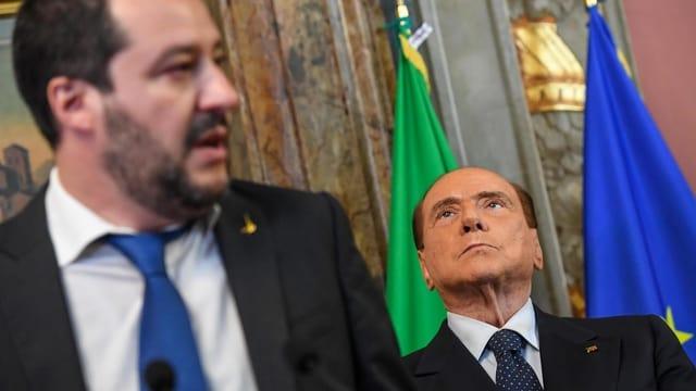 Salvini und Berlusconi
