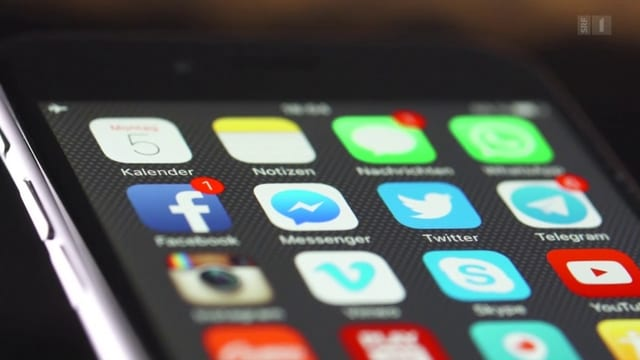Startbildschirm eines Smartphones