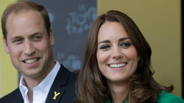 Geniturs cuntents: Princi William e la duchessa da Cambridge ha ussa ina buoba.