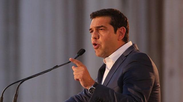 Il primminister grec, Alexis Tsipras davart refurmas da la constituziun che fissan da far.
