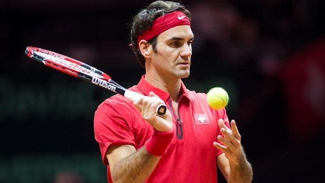 Roger Federer spielt womöglich doch Davis Cup.