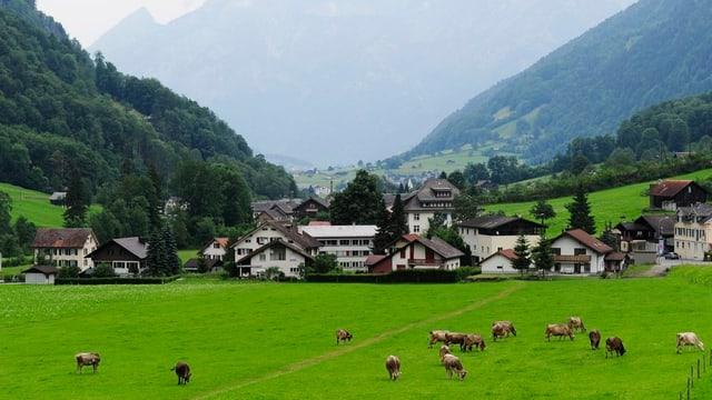 DIe Gemeinde Glarus Süd.