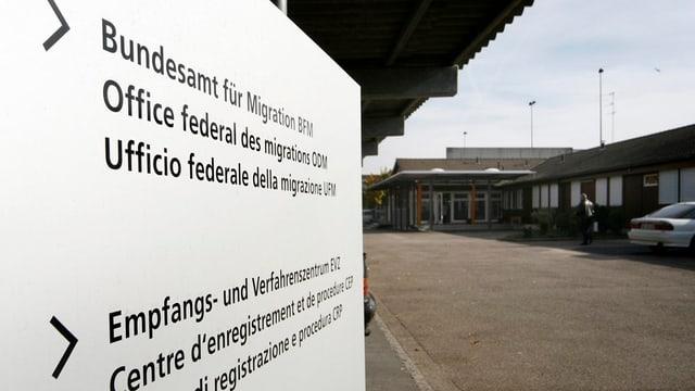 Empfangszentrum Bässlergut