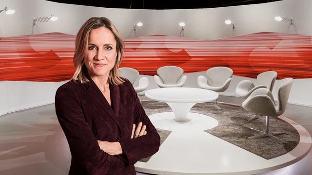 Barbara Lüthi im Studio
