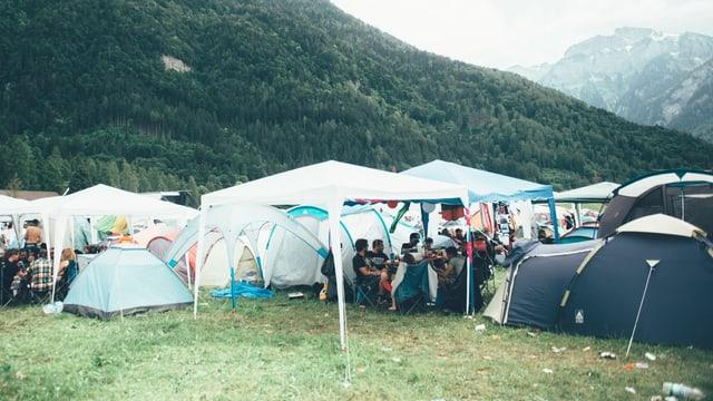 Das Basis-Camp eines jeden Festivalbesuchers.