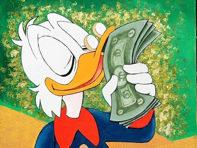 Berühmtester Sparfuchs in einer Serie: Onkel Dagobert in «DuckTales».