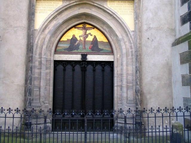 Portal zur Kirche