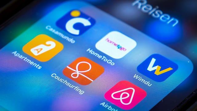 Apps per il telefonin per cudischar vacanzas.