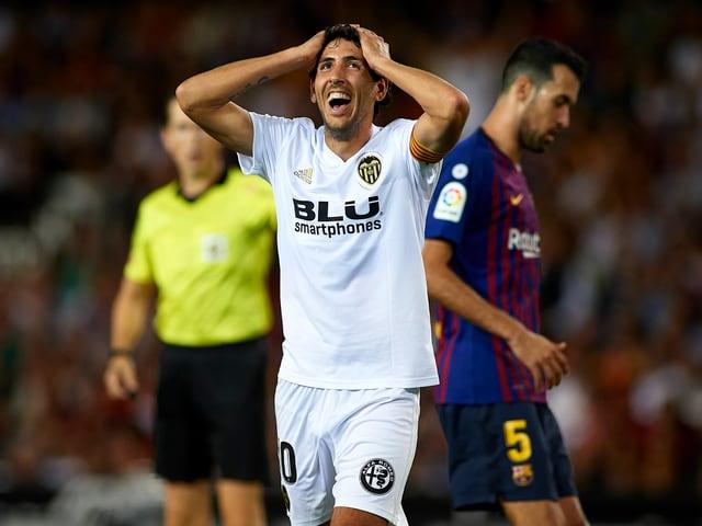 Valencias Dani Parejo hadert.