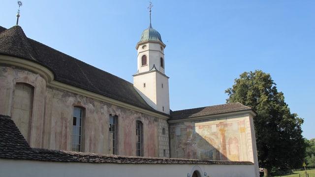 Kloster Fahr von aussen.