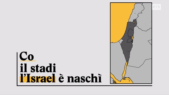Laschar ir video «Explainer: Co il stadi d'Israel è naschì»