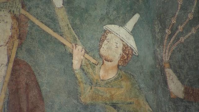 Passiun da Cristus en frescos en la baselgia da Vuorz è l'ovra principala da l'uschènumnà «Meister da Vuorz».