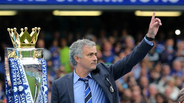 Mourinho in Jubelpose