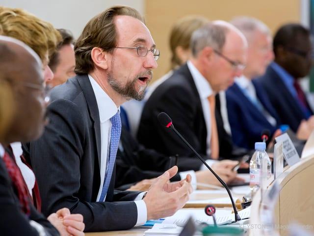 Zeid al-Hussein vor UNO-Menschenrechtsrat